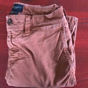 Other - AEO Rust colored chinos